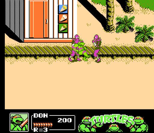 忍者神龟3无敌版截图3