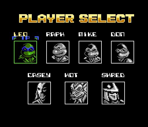 忍者神龟格斗截图1