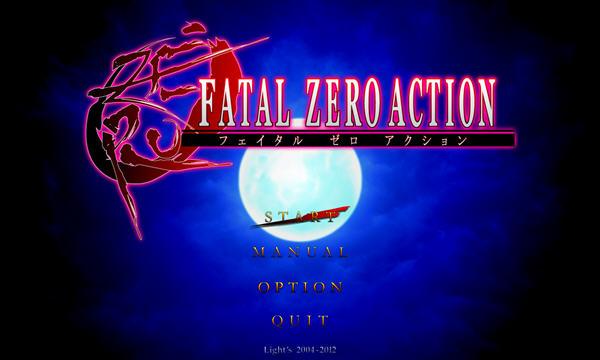 FATEL ZERO ACTION截图0