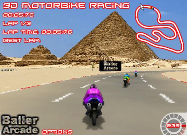3D摩托狂飙截图2
