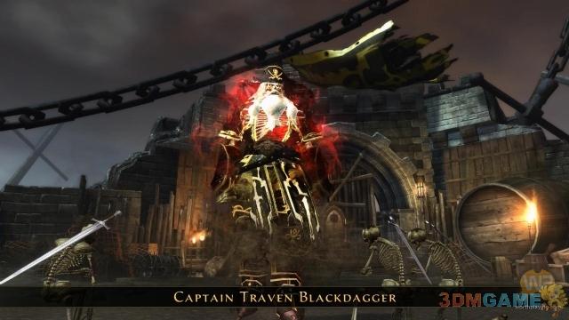大战骷髅海盗船长 《无冬之夜》最新截图