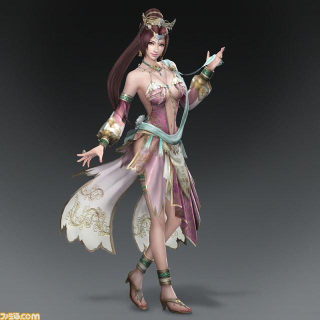 《真三国无双7》新武将设定 小乔小清新貂蝉演AV?