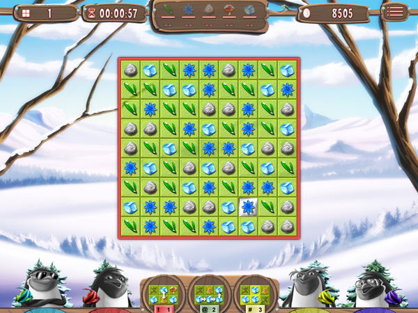 雪人冒险:疯狂的企鹅截图2