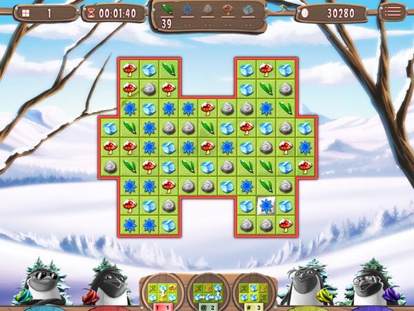 雪人冒险:疯狂的企鹅截图4