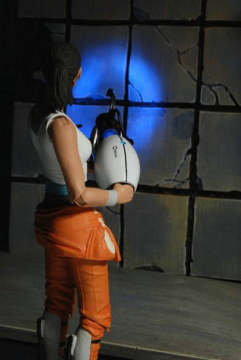 全球限量发售!《传送门2》女主角雪儿手办新图赏