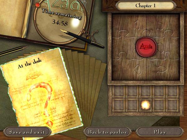 阿扎达:古书魔咒截图1