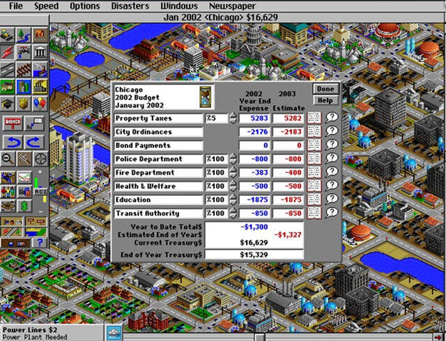模拟城市2000:特别版截图0