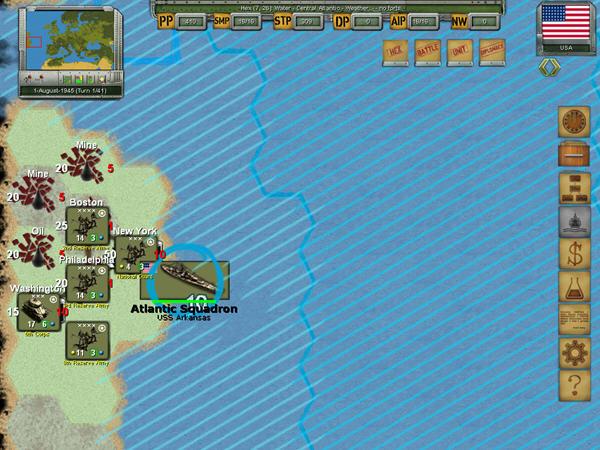 欧洲战略战争截图3