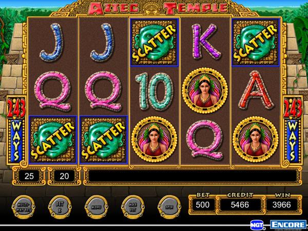IGT游戏机:阿兹台克神庙截图1