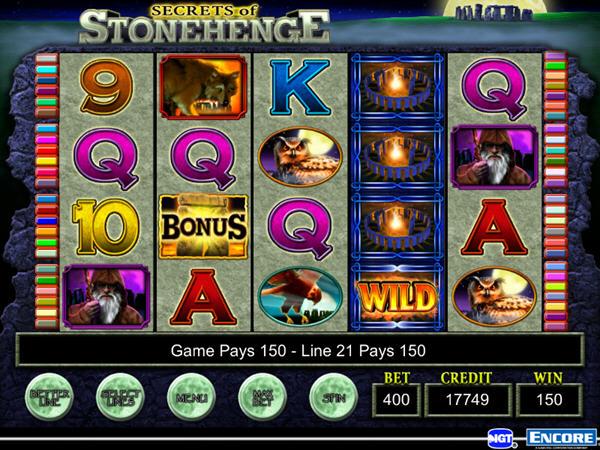 IGT游戏机:阿兹台克神庙截图2