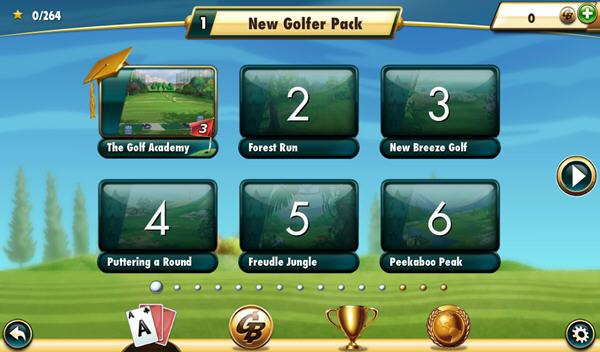 高尔夫纸牌3:开球截图1