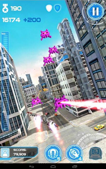 喷气机跑酷:城市保卫者破解版截图3