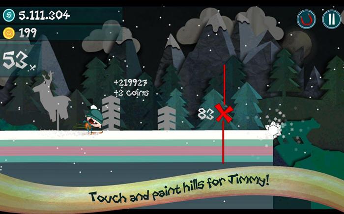 吉米的滑雪破解版截图0
