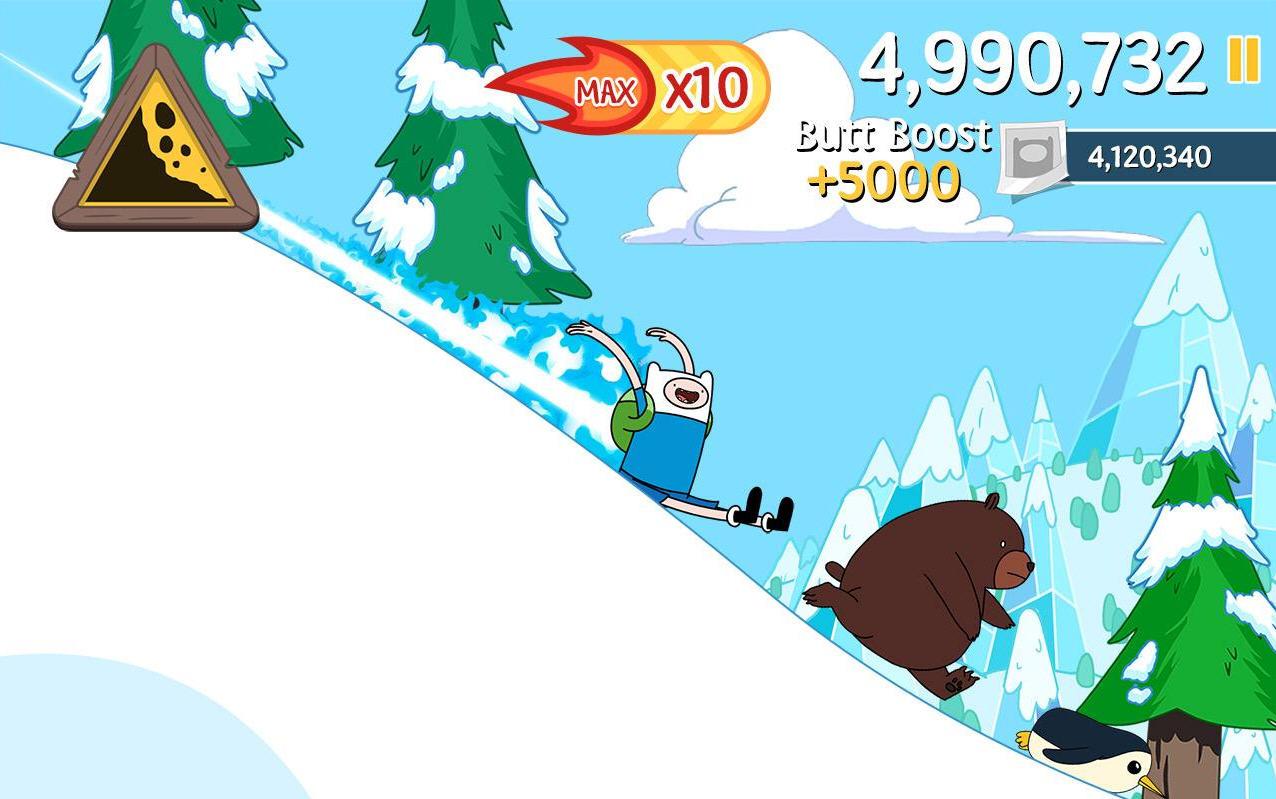 滑雪大冒险:冒险时间破解版截图2