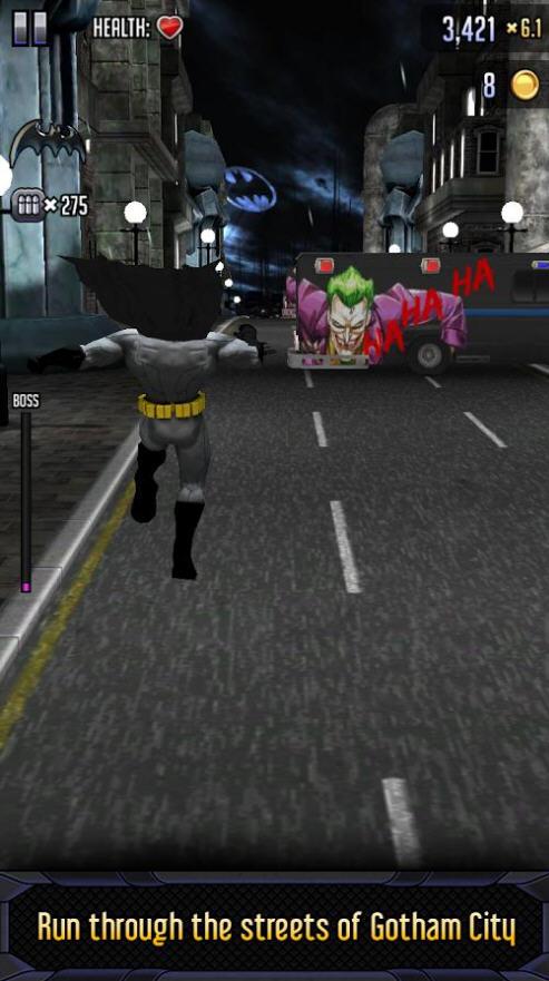 蝙蝠侠与闪电侠:英雄跑酷破解版截图1