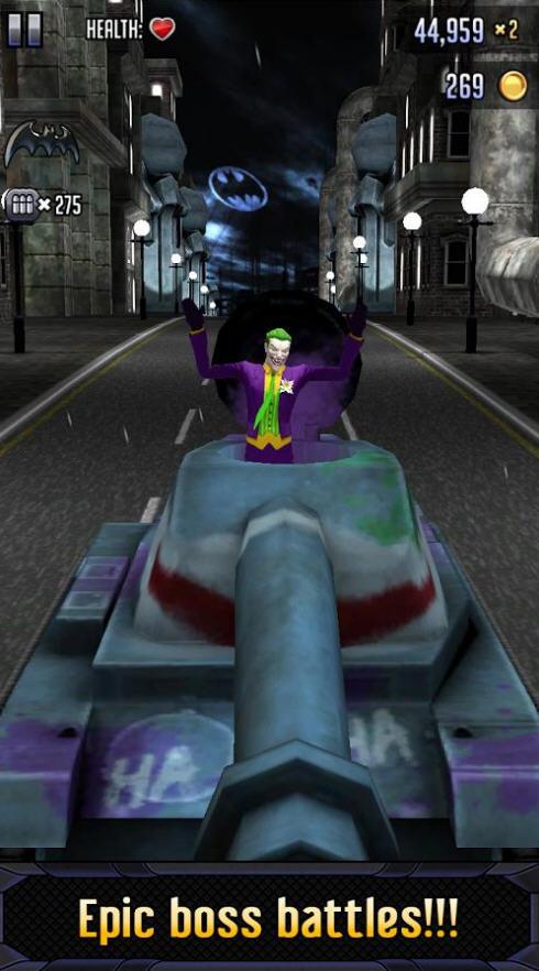 蝙蝠侠与闪电侠:英雄跑酷破解版截图2