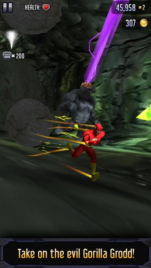 蝙蝠侠与闪电侠:英雄跑酷破解版截图3