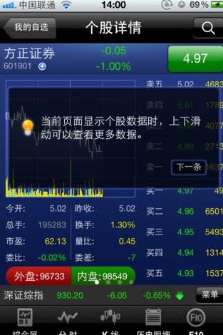 方正证券泉友通手机炒股软件V5.5.1.11 安卓版截图1