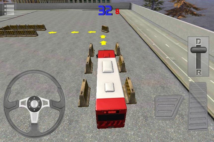 3D巴士停车大挑战V1.7截图2