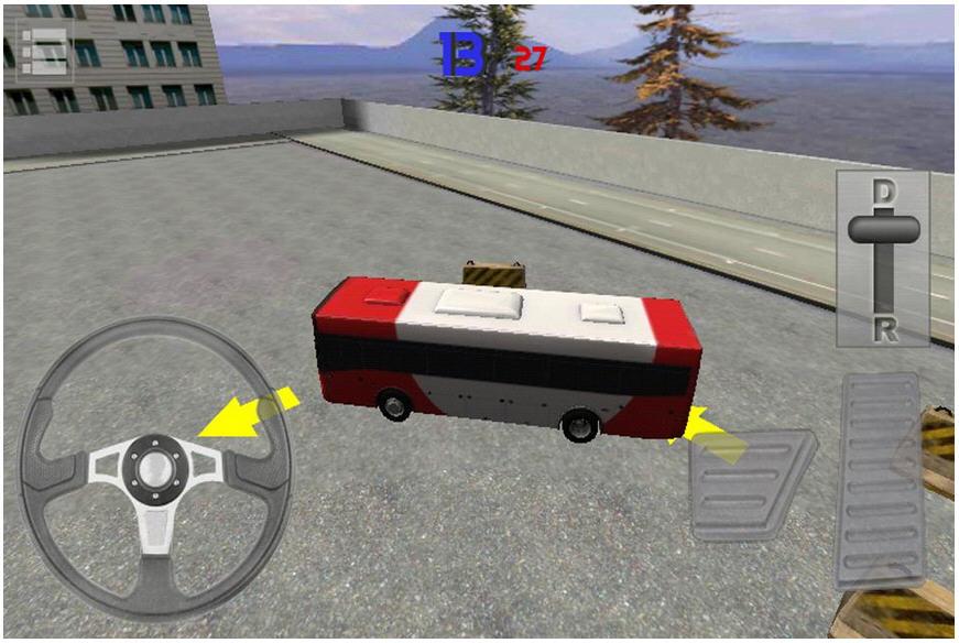 3D巴士停车大挑战V1.7截图3