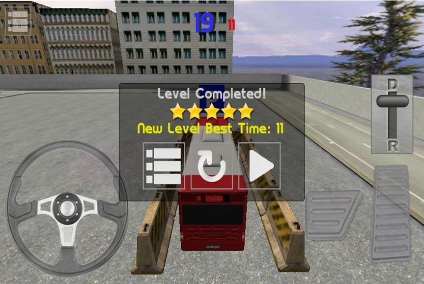 3D巴士停车大挑战V1.7截图4