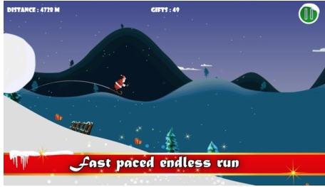 圣诞老人滑雪V1.0截图3