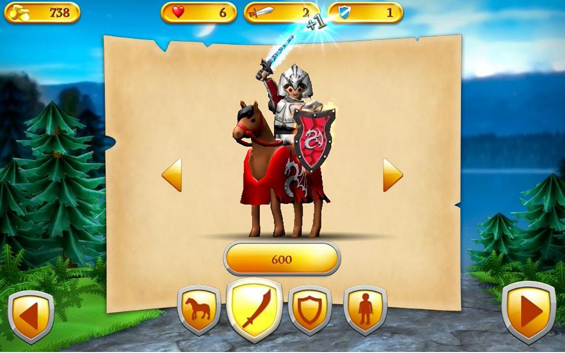 掌上骑士破解版截图3
