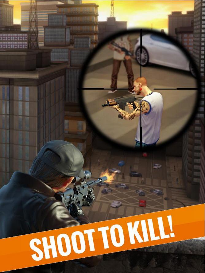 3D狙击刺客:自由猎杀破解版截图1