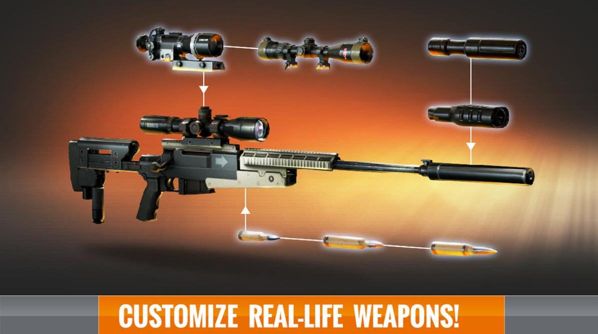 3D狙击刺客:自由猎杀破解版截图2