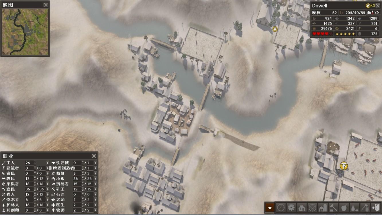 放逐之城平面图