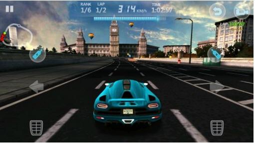 城市赛车3D破解版截图3