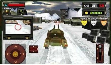 3D坦克英雄破解版截图1