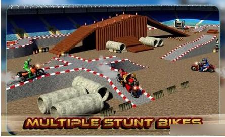 3D疯狂摩托车破解版v1.0截图1