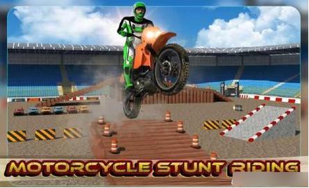 3D疯狂摩托车破解版v1.0截图2
