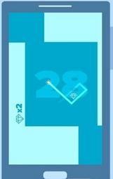 正方形转弯(休闲益智类手游)截图1