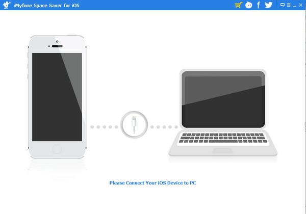 ios设备垃圾清理软件(iMyfone Space Saver for iOS)v 2.1.0 官方免费版截图0
