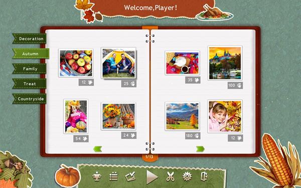 假日拼图:感恩节2截图1