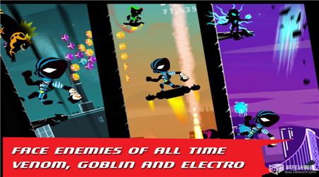 蜘蛛忍者跳跃(横版闯关)安卓破解版v1.0截图3