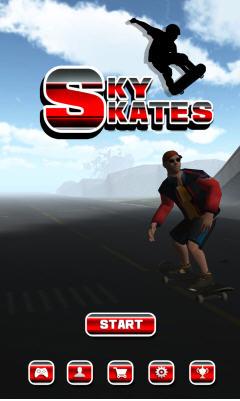 3D滑板跑酷破解版截图0