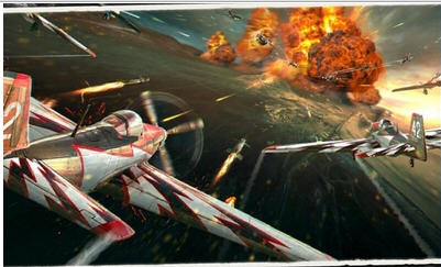 3D空战英豪王者破解版截图0