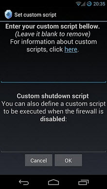 安卓防火墙(Android Firewall)V2.3.5汉化版截图1