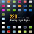 220款web2.0的PS样式