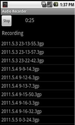 手机录音机V1.46安卓版截图1