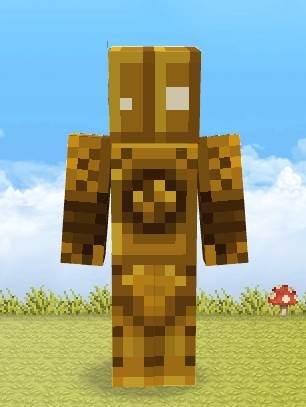 我的世界英雄联盟-蒸汽机器人皮肤