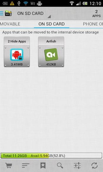 AppMgr Pro III(移动程序到SD卡)安卓版v3.47截图2