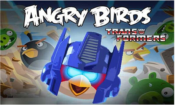 愤怒的小鸟变形金刚安卓版1.3.21截图1
