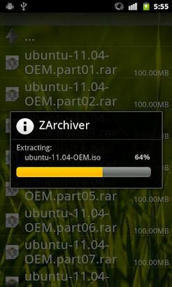 zarchiver解压工具安卓版V0.8.4已付费汉化完整版截图0