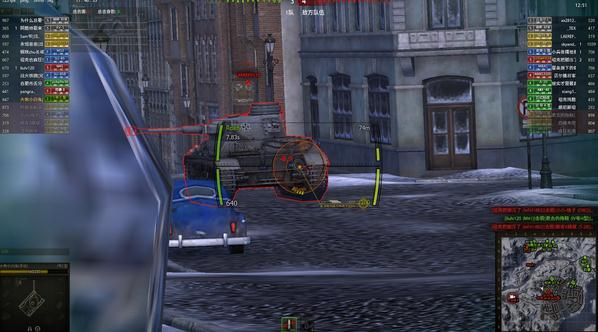 坦克世界效率值_坦克世界9.13等效装甲插件下载__飞翔下载