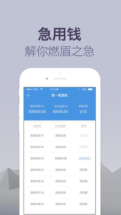 菜鸟贷appV1.0.3官网免费版截图2