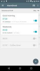 AlarmDroid闹钟v2.1.7安卓版截图0